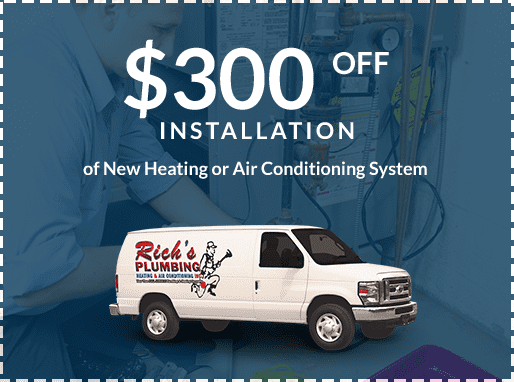 heating air conditioning installation coupon